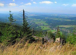 Pohled ze Smědavské hory