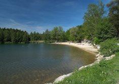 Okolo Boleveckých rybníků na vozíku