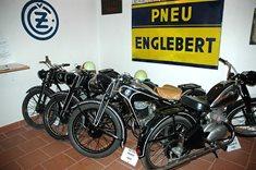 Muzeum motocyklů v Oselcích