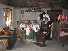 Muzeum venkovských řemesel na statku v Mířkově