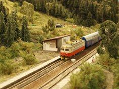 Modelové království železnic ve Žďáru nad Sázavou
