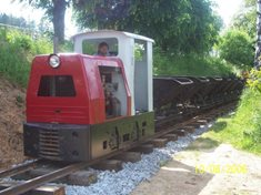 Plzenecká železnice - úzkorozchodná trať ve Starém Plzenci
