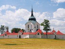 Zelená hora - poutní kostel sv. Jana Nepomuckého u Žďáru nad Sázavou