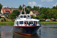 Vyhlídkové plavby na lodi Lipno z Týna nad Vltavou