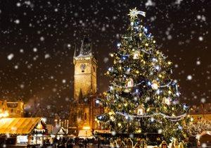 Vánoční atmosféra vPraze