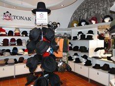 Expozice výroby klobouků v Novém Jičíně