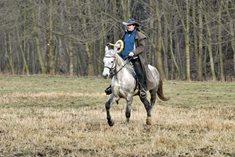 Vyjížďky na koni do přírody v Moravském krasu