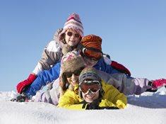 Skipark Frymburk - rodinné lyžování na Lipně