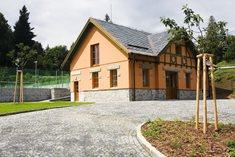 Vila Stomix v podhůří Rychlebských hor