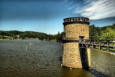 Luhačovická přehrada - klidová zóna u Luhačovic