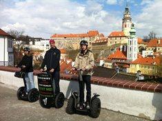 Segway tour Český Krumlov