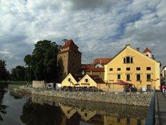 Železná Panna - hospůdka v bývalé českobudějovické hradební věži