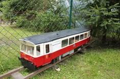 Zahradní železnička v Poličce