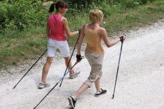 Kurzy Nordic Walkingu v oblastech od Krušných hor po Krkonoše