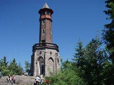 Rozhledna Štěpánka – nejstarší rozhledna Jizerských hor