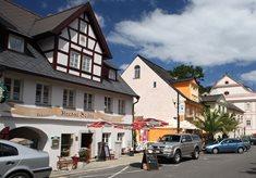 Penzion a restaurace Hradní Bašta v Bečově nad Teplou