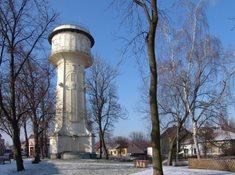 Secesní vodárenská věž v Nymburce