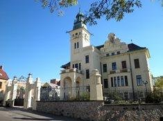 Hernychova vila – kulturní centrum Městského muzea v Ústí nad Orlicí