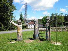 Areál lesních her ve Stožci