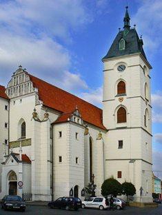 Kostel Narození Panny Marie ve Vodňanech